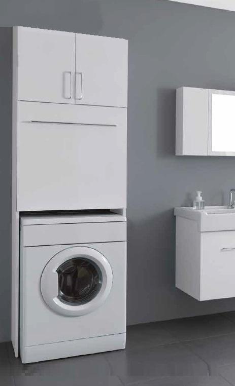 стиральная машина в пенале на кухне фото
